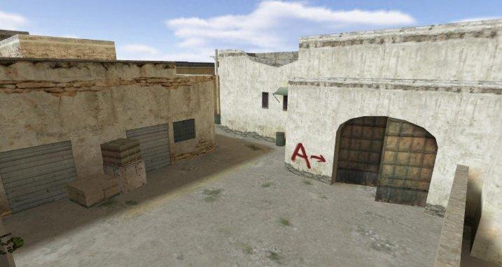 Карта de_dust2_2x2 из CS:GO