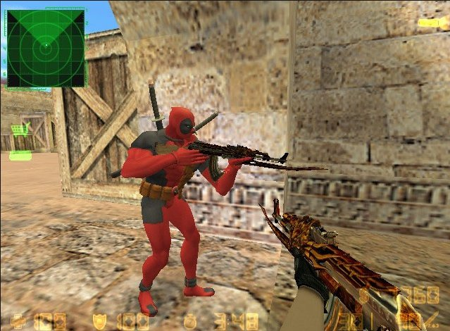 Counter-Strike 1.6 CrossFire