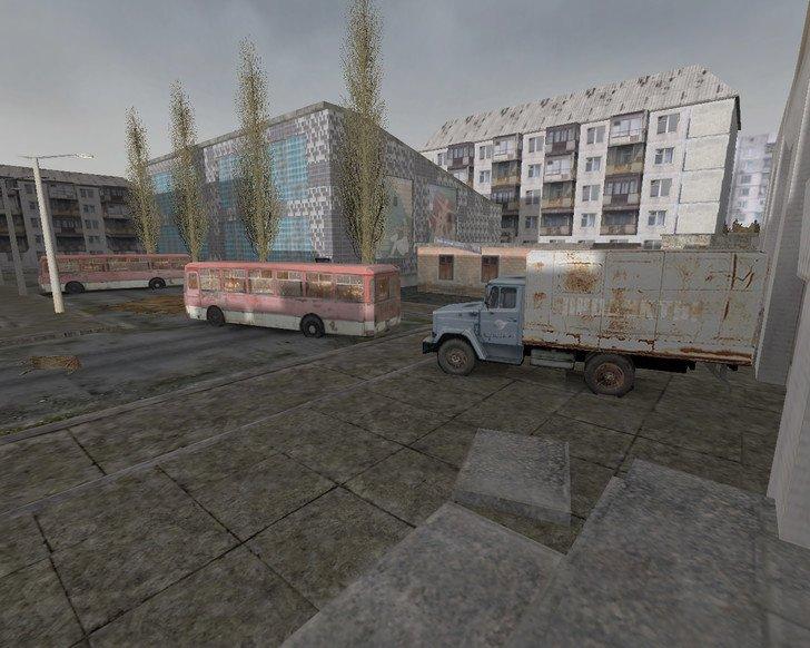 Карта de_chernobyl для CS 1.6