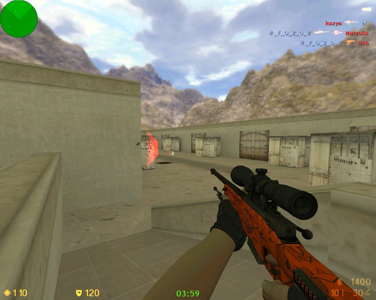 Counter-Strike 1.6 Hydra | Гидра